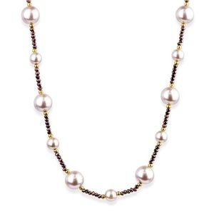 SAACHI Classic Pearl Strand Necklace